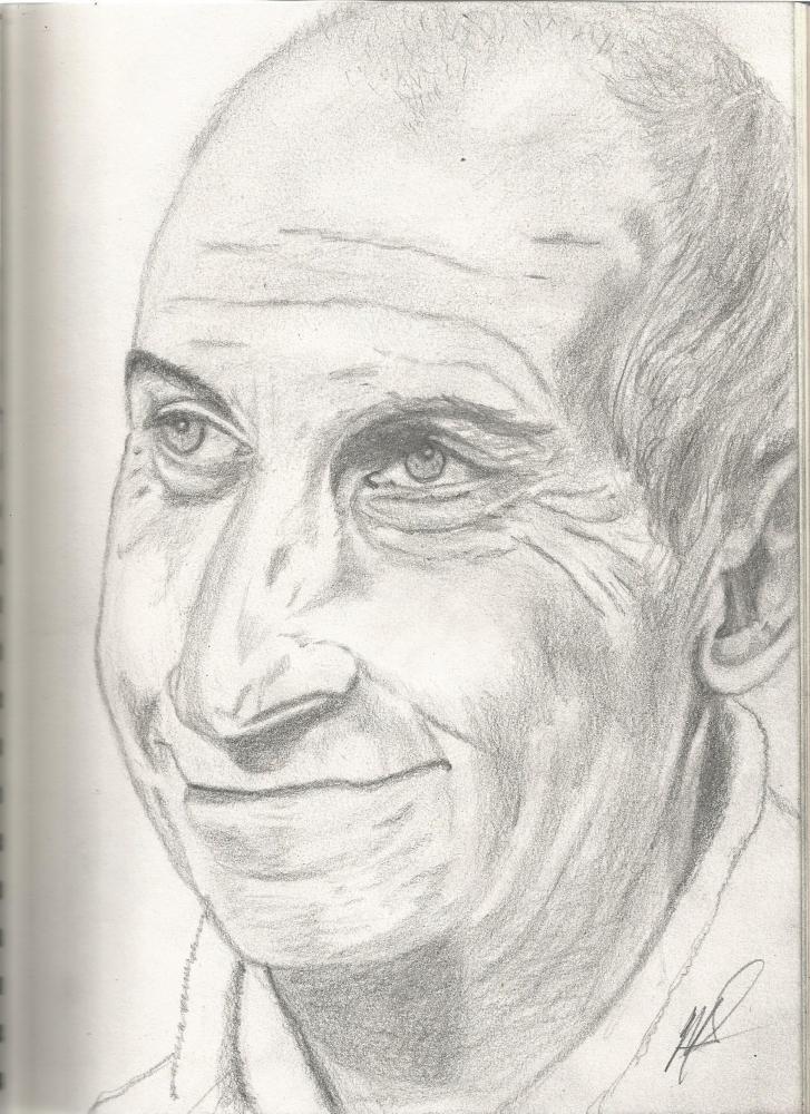 Louis de Funès by maliloux